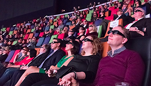 Rangos Giant Cinema Audience